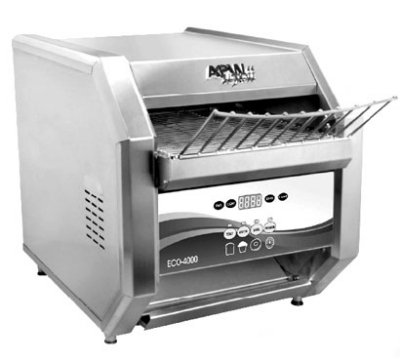 Apw Wyott Eco 4000-500L Eco-4000 Conveyor Toaster, Analog Controls, 500 Units/Hr, 208 V, Each