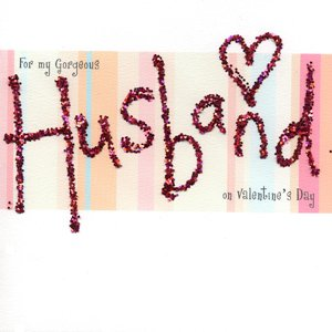Quot For My Gorgeous Husband Quot Handmade Valentine S Card
