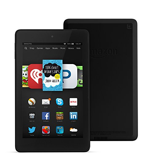 "Fire HD 6, 6"" HD Display, Wi-Fi, 8 GB - Includes Special Offers, B"