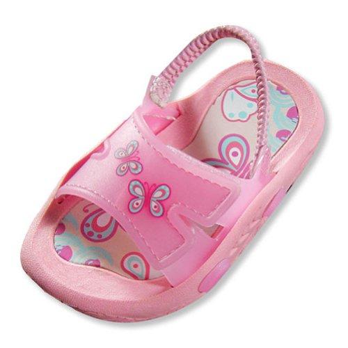 Private Label - Toddler Girls Butterfly Sandal, Pink 19986-10Mustoddler