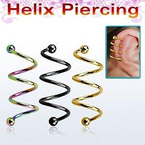 8mm helix earring gauge