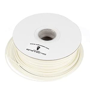 SainSmart 3mm PLA 3D Filament 1kg/2.2lb Natural for 3D Printers Reprap, Afinia, Solidoodle 2, Printrbot LC, Mendel, MakerGear M2 and UP by SainSmart
