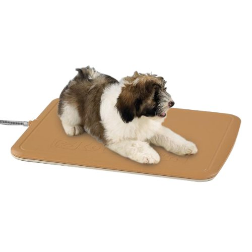 Proselect Abs Plastic Pet Heated Kennel Pad Cover, Medium