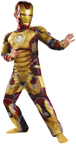Iron Man Mark 42 Classic Muscle Costume - Small