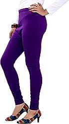 Red Chilli Women's Cotton Slim Fit Leggings (alg_026_rc, Free Size, Indigo)