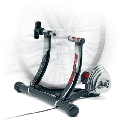Elite Crono Hydromag Elastogel Fluid/Magnetic Indoor Bicycle Trainer