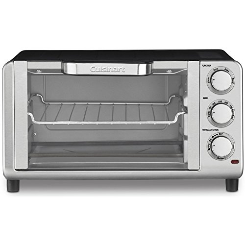 Cuisinart Compact Toaster Oven Broiler Stainless Steel (TOB-80FR)(Certified Refurbished) (Compact Toaster Oven Broiler compare prices)