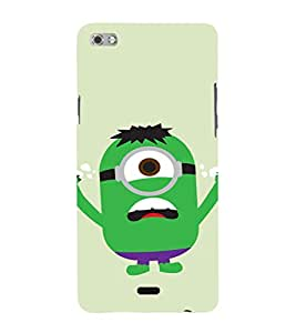 EPICCASE Superhero Minion Mobile Back Case Cover For Micromax Sliver 5 Q450 (Designer Case)