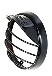 Bikers World Headlight Grill With Shade Only For Royal Enfield Bullet Classic 350