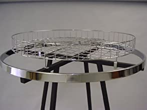 30quot ROUND BASKET FO RTOP OF ROUND RACKS-CHROME-Lot of 1