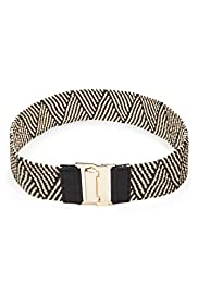 Safari Zig Zag Design Waist Belt