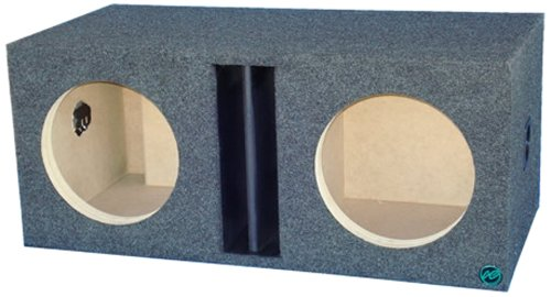 Audio Enhancers 12W7Dc Subwoofer Enclosure Box, Carpeted Finish