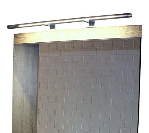 LED Spiegelleuchte, Aufbauleuchte aus verchromten Aluminium