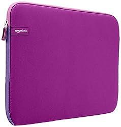 AmazonBasics 15.6-inch Laptop Sleeve (Purple)
