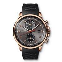 [アイダブリューシー]IWC 腕時計ポルトギーゼ・ヨットクラブ・クロノグラフ 18Kレッドゴールド×ラバー・ストラップ ブラック IW390209 メンズ [メーカー保証付 ] [お取り寄せ品] [並行輸入品]