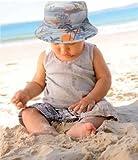 Kooringal (クーリンガル) DOZERドーザー ハワイアン柄 リバーシブル 赤 べビー帽子 (48cm)