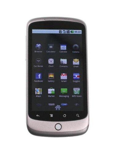 Google Nexus One Unlocked Phone with Android – No Warranty (Brown)