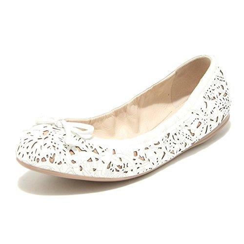 42416 ballerina bianca donna PRADA SPORT scarpe shoes women [37.5]