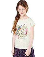 Pure Cotton Bird T-Shirt