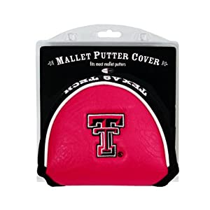 Texas Tech Red Raiders Golf Mallet Putter Cover (Set of 2) by Team Golf