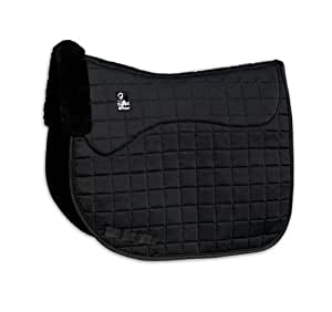Steffen Peters by Professionals Choice 22X26 Equine Smx Luxury Shearling Dressage Pad (Black)