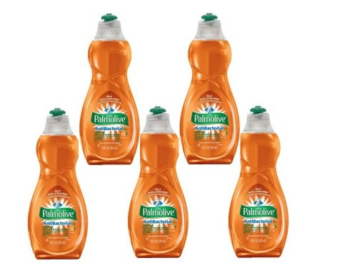 Palmolive Ultra Antibacterial Orange Dish Washing Liquid - 10oz palmolive