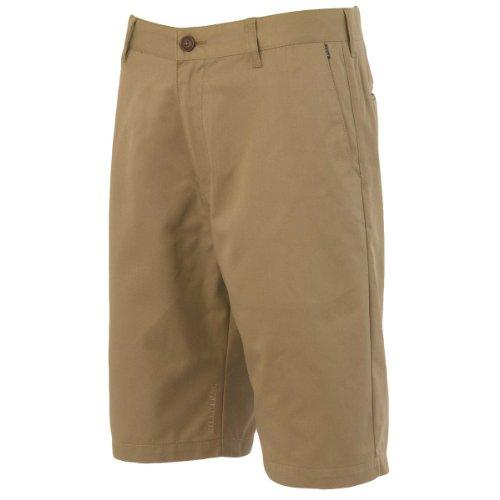 Billabong Little Boys' Kids Carter Shorts, Dark Khaki, 5 front-866006