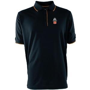 Antigua Auburn Tigers Mens Elite Polo With Bcs Championship Logo by Antigua