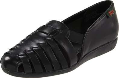 Bass Women's Colleen Casual Flat Shoe,Black,7 N US