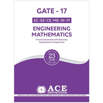 Engineering Mathematics, Previous Questions with solutions, (GATE 17)