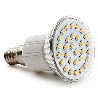 E14 3528 Smd 30-Led White 70-90Lm Light Bulb (230V, 1-2W)