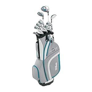 Wilson Women's 2015 Ladies Profile XLS Complete Package Golf Set, Teal