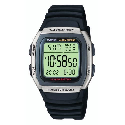 Casio W-96H-1AVES Mens Resin Digital Watch