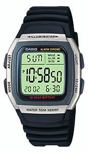 Casio W-96H-1AVES Mens Resin Digital Watch