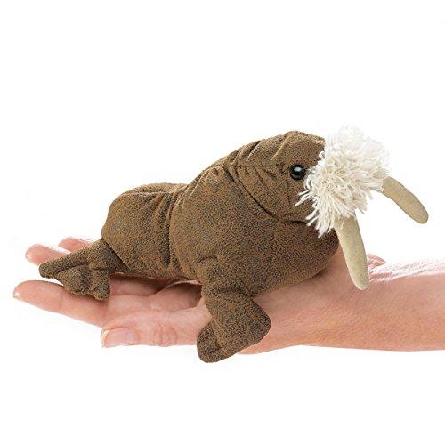 Folkmanis Mini Walrus Finger Puppet