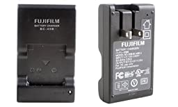 Fujifilm Corporation Fujifilm Battery Charger BC-45B or Fujifilm Battery Charger Model No. BC-45BU Which Charges Fujifilm Lithium Ion Battery Pack NP-45A which Charges Digital Camera Battery (Charges Fujifilm T190 14Megapixels 10x Zoom Digital Camera Batt