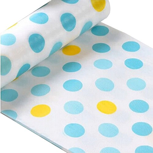 Non-Slip Moisture Proof Anti Dust Mat, Kitchen Drawer Storage Pad,Blue Lm-L