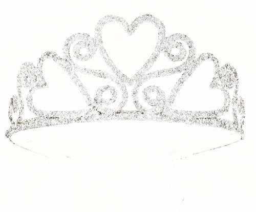 Forum Novelties Glitter Tiara (Adult Size)