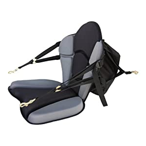 GTS Expedition Molded Foam Kayak Seat - Fishing Pack by Surf To Summit