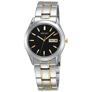 Click to buy Seiko Watches for Men: SGFA09 Dress Two-Tone Watch from Amazon!