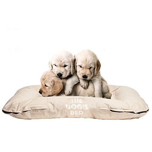 The-Dogs-Bed-Premium-Waterproof-Dog-Beds-Quality-Durable-Oxford-Fabric-Washable-Covers-in-Grey-Brown-Green-Black-Biscuit-Pink-Blue-Embroidered-Designs-ZZZZZ-Back-in-5-Mins-Bible-Verses