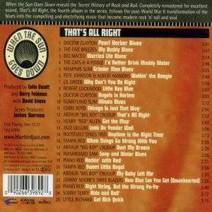 Various Artists - When The Sun Goes Down 4: That's All Right