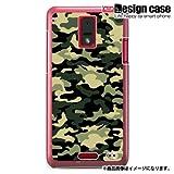 HTC J ISW13HTハード ケース カバー ジャケット/1046_カモフラージュ/CR