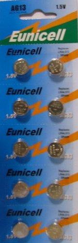 Eunicell AG13 / LR44 Knopfzellen