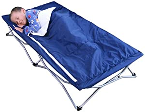 Regalo My Cot Deluxe Portable Bed, Navy