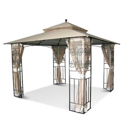 Replacement Canopy and Netting Set for Mika Ridge Estate Gazebo