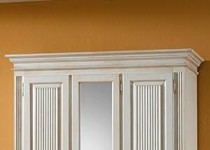Jumbo-Möbel Dielenschrank FREIBURG Fichte massiv altweiß B: 152 cm