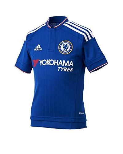 adidas Camiseta de Fútbol Chelsea Fc Home Azul / Blanco / Rojo