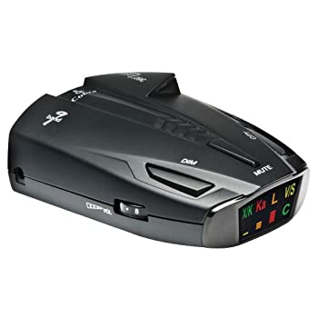 The Cobra ESD 7570 9- band radar/laser detector with UltraBright data display, has an ultra compact design with an improved range for high performance with refined style. The ESD 7570 features a digital signal strength meter to provide relative proxi...