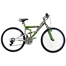 Mongoose Women's Tactic Bicycle Green